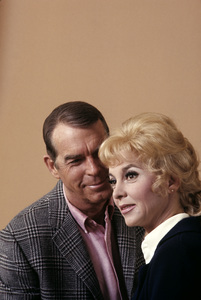 """Fred MacMurray and Beverly Garland from """"My Three Sons""""1969 © 1978 Gene Trindl - Image 0095_1034"""
