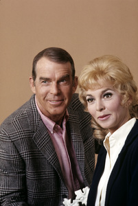 """Fred MacMurray and Beverly Garland from """"My Three Sons""""1969 © 1978 Gene Trindl - Image 0095_1035"""