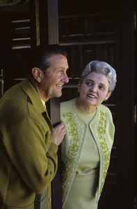 Lawrence Welk with his wife Fern Renner1967 © 1978 Gene Trindl - Image 0097_1013