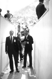 Democratic National Convention (Los Angeles)Frank Sinatra and Peter Lawford1960 / © 1978 Bernie Abramson - Image 0135_0028