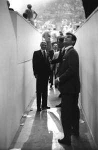 Democratic National Convention / Los Angeles, CA / Frank Sinatra, Peter Lawford, Tony Curtis1960 © 1978 Bernie Abramson - Image 0135_0029
