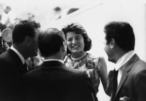 Democratic National Convention / Los Angeles, CA / Peter Lawford, Frank Sinatra, Patricia Kennedy, Tony Curtis1960 © 1978 Bernie Abramson - Image 0135_0030