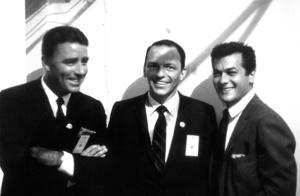 Democratic National Convention (Los Angeles)Peter Lawford, Frank Sinatra, Tony Curtis1960 / © 1978 Bernie Abramson - Image 0135_0035