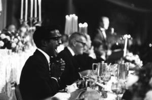 Democratic National Convention / Los Angeles, CA / Sammy Davis Jr.1960 © 1978 Bernie Abramson - Image 0135_0039