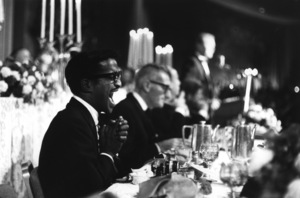 Democratic National Convention / Los Angeles, CA / Sammy Davis Jr.1960 © 1978 Bernie Abramson - Image 0135_0039