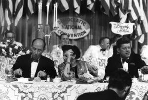 Democratic National Convention / Los Angeles, CA / Adlai Stevenson, Judy Garland, John F. Kennedy1960 © 1978 Bernie Abramson - Image 0135_0042