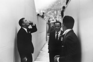 Democratic National Convention / Los Angeles, CA / Peter Lawford, Frank Sinatra, Tony Curtis1960 © 1978 Bernie Abramson - Image 0135_0043