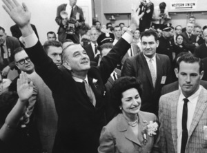 Democratic National Convention / Los Angeles, CA / Lyndon B. Johnson, Lady Bird Johnson1960 © 1978 Lou Jacobs Jr. - Image 0135_0044