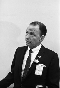 Frank Sinatra at the 1960 Democratic National Convention © 1978 Bernie Abramson - Image 0135_0046
