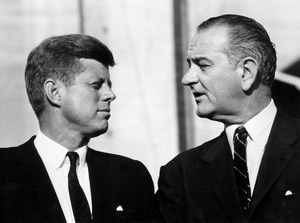 John F. Kennedy and Lyndon B. Johnson at the Democratic National Convention1960 © 1978 Lou Jacobs Jr.  - Image 0135_0050