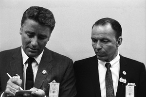 Peter Lawford and Frank Sinatra at the Democratic National Convention1960 © 1978 Bernie Abramson - Image 0135_0052
