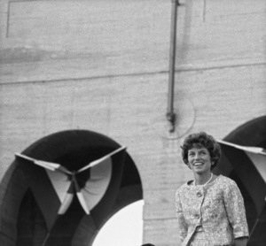 Eunice Kennedy Shriver at the Democratic National Convention1960 © 1978 Bernie Abramson - Image 0135_0054a