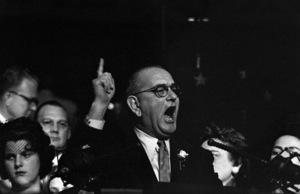 """The Democratic National Convention""Lyndon B. Johnson1960 © 1978 Lou Jacobs Jr. - Image 0135_0057"