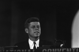 """""""The Democratic National Convention""""John F. Kennedy1960 © 1978 Lou Jacobs Jr. - Image 0135_0060"""