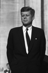 """""""The Democratic National Convention""""John F. Kennedy1960 © 1978 Lou Jacobs Jr. - Image 0135_0061"""