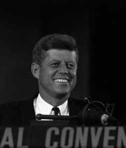 """""""The Democratic National Convention""""John F. Kennedy1960 © 1978 Lou Jacobs Jr. - Image 0135_0065"""