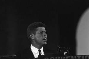 """""""The Democratic National Convention""""John F. Kennedy1960 © 1978 Lou Jacobs Jr. - Image 0135_0066"""