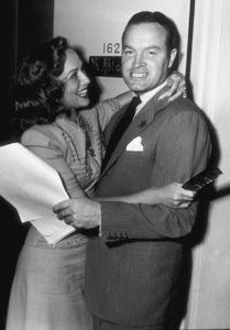 Bob Hope and Paulette Goddardc. 1942 © 1978 Bill Dudas - Image 0173_0007