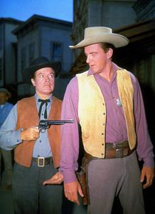 "Bob Hope and James Arness on the set of ""Alias Jesse James""1959 UA - Image 0173_0304"