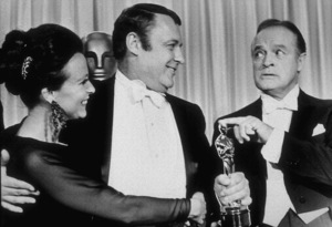 Bob Hope, Rod Steiger and Claire Bloomat the 40th Annual Academy Awards1968 © 1978 Bud Gray - Image 0173_0427
