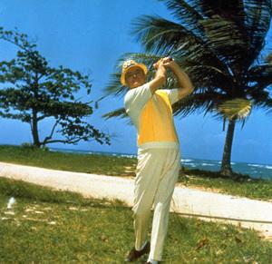 Bob Hope playing golfC. 1960 © 1978 Bud Fraker - Image 0173_0431