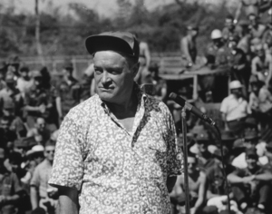 Bob Hope during a U.S.O. tour in SoutheastAsia1966Photo By Gerald SmithMPTV - Image 0173_0488