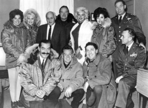 Bob Hope at the U.S.O Tour (Labrador)joined by Jayne Mansfield, Jerry Colonna,and others, 1961.**I.V. - Image 0173_0553