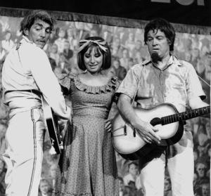 Bob Hope with Dean Martin and Barbra Streisand,c. 1964.**I.V. - Image 0173_0555