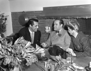 Bob Hope with Cary Grant at a christmas party,December 23, 1943.**I.V. - Image 0173_0588