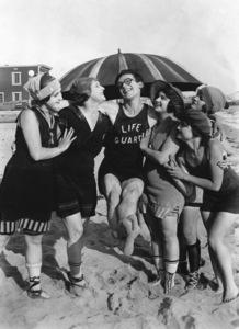 Harold Lloyd, BY THE SAD SEA WAVES, short, Pathe-Rolin, 1917, **I.V. - Image 0198_0616