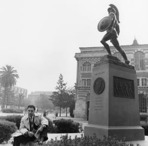 William Peter Blatty at U.S.C. (The University of Southern California)1958 © 1978 Sid Avery - Image 0234_0002