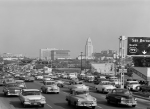 Los Angeles Freeways1955 © 1978 Sid Avery - Image 0252_0039