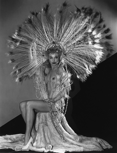 Lili St. Cyrfan dancer at the Florentine Gardens in Hollywood California, 1940 © 1978 Sid Avery - Image 0270_0001