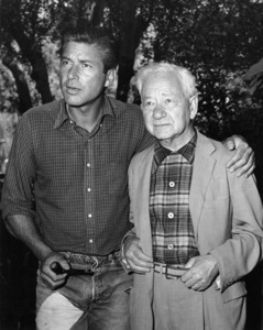 Efrem Zimbalist Jr. and his father at his homecirca 1960sPhoto by Joe Shere - Image 0286_0761