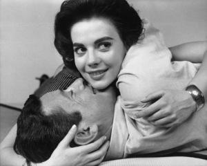 "Natalie Wood and Efrem Zimbalist Jr. in ""Bombers B-52""1957 Warner BrothersPhoto by Bert Six** B.D.M. - Image 0286_0773"