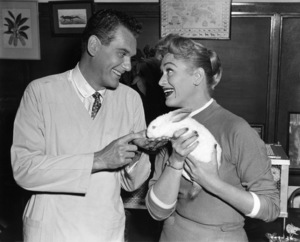 """Eve Arden and Robert Rockwell in """"Our Miss Brooks""""1956 Warner Brothers - Image 0287_0106"""