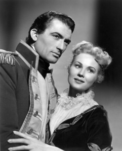 """Gregory Peck, and  Virginia Mayo""""Captain Horatio Hornblower""""1951 Warner Brothersphoto By Bert Six - Image 0288_0113"""