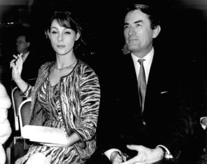 Gregory Peck and his wifeVeronique Passanic. 1967Photo by Bud Gray - Image 0288_0115