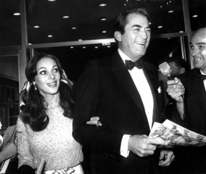 Gregory Peck and his wifeVeronique PassaniJanuary 1967Photo by Joe Shere - Image 0288_0221