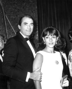 Gregory Peck and his wifeVeronique PassaniOctober 1966Photo by Joe Shere - Image 0288_0223