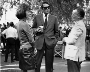 """Gregory Peck, and Anne HaywoodWith Director J.Lee Thompson""""The Chairman""""1969 20th century fox - Image 0288_0225"""