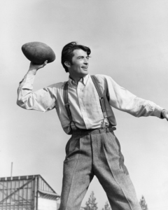 """Gregory Peck during the making of """"The Valley of Decision""""1945 MGM** I.V./M.T. - Image 0288_0246"""