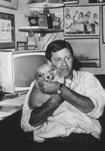 Jerry Lewis with his dogC. 1963 - Image 0292_0455