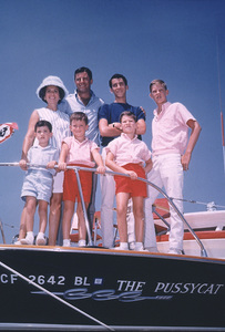 Jerry Lewis and FamilyC. 1966  Photo by Bud Fraker - Image 0292_0459