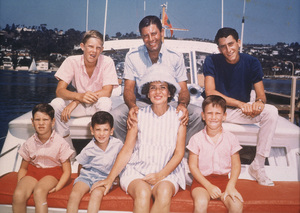 Jerry Lewis and FamilyC. 1966  Photo by Bud Fraker - Image 0292_0460