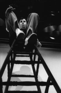 Jerry Lewis rehearsal for NBC TV Show, 1960. Photo: Ernest Reshovsky © 1978 Marc Reshovsky - Image 0292_0516