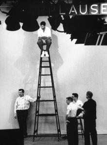 Jerry Lewis rehearsal for NBC TV Show, 1960. Photo: Ernest Reshovsky © 1978 Marc Reshovsky - Image 0292_0523