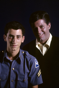Jerry Lewis and his son, Gary Lewis1962© 1978 Gene Trindl - Image 0292_0531