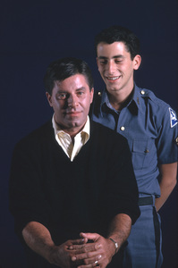Jerry Lewis and son GaryOct. 1962  Photo by Gene Trindl - Image 0292_0538