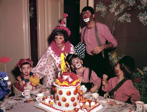 Jerry Lewis with his wife and childrencirca 1963 - Image 0292_0547